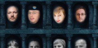 """Многоликият дявол, Снимка: Плакат на HBO от сериала """"Игра на тронове"""", адаптация: Дани К."""