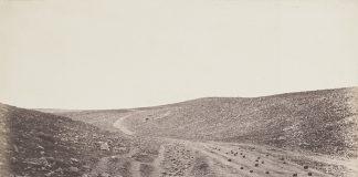 Пътища, изграждани от милиционери; Снимка: Роджър Фентън (©RMN-Grand Palais (Musée d'Orsay) / Hervé Lewandowski), 23.4.1855 г.