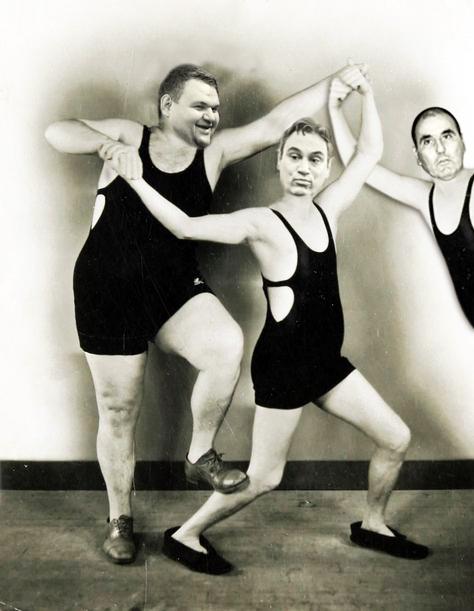 Трима корумпирани глупаци; Снимка: Интернет; Колаж: Дани К.