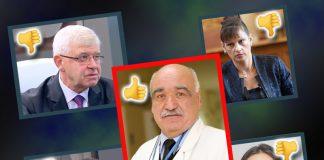 Експертите в страната на Борисоф и Пеефски; Снимки: Интернет; Колаж: Дани К.