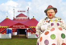 Най-добрият цирк по време на чума; Снимки: Интернет; Колаж: Юли С.