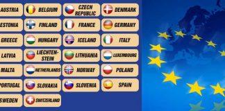 Държавите от Шенген; Снимка: Интернет