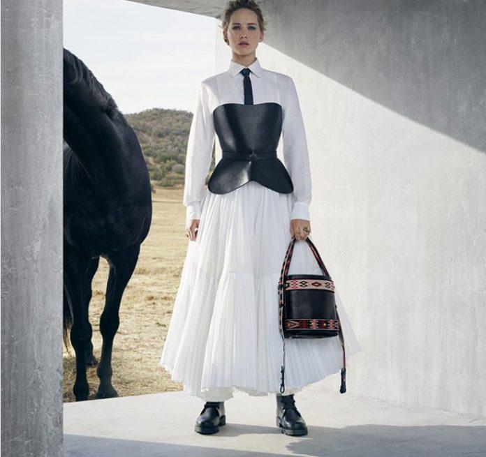 Дженифър Лорънс в реклама на Dior; Снимка: Dior / Instagram