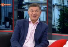 """Милен Цветков; Снимка: скрийншот екран БНТ, предаване """"Денят започва с Георги Любенов"""""""