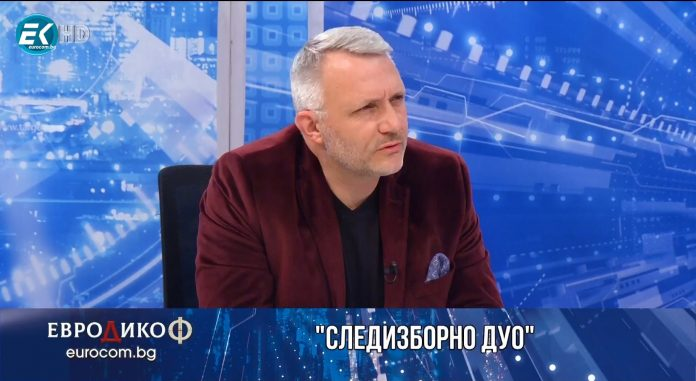 Николай Хаджигенов; Снимка: скрийншот ТВ Евроком, предаване ЕвроДикоФ